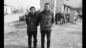 -3℃!江苏赣榆两小伙跳进冰河救轻生女