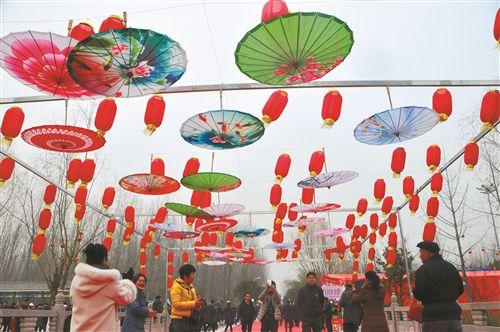 百年渔村绽新颜 沛县举行渔民文化庙会