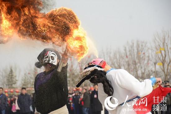 """甘肃定西:文化过大年 非遗""""唱主角""""【4】"""