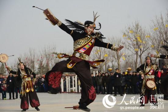 """甘肃定西:文化过大年 非遗""""唱主角""""【3】"""
