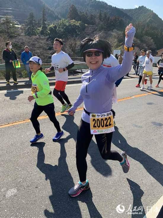 人民网及首都媒体跑团闪耀日本青梅传播马拉松魅力