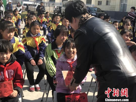 青海省爱助事实孤儿公益项目已助学近千名儿童