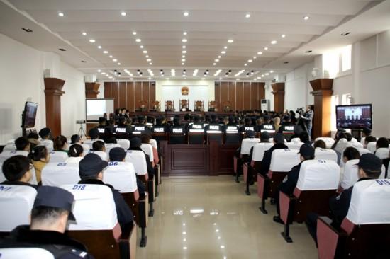 【掃黑除惡進行時】永寧法院對伍永濤等22人涉黑案一審宣判