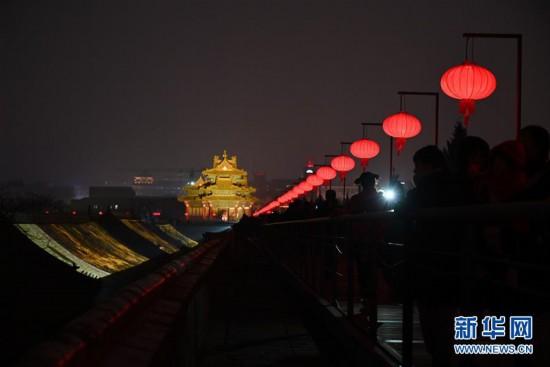 """(文化)(8)故宫首开夜场迎""""上元之夜"""""""