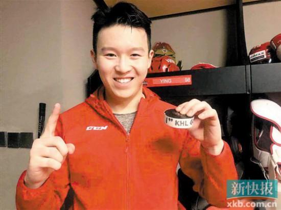 大发一分彩独家报道:中国球员攻入KHL首球英达之子发明里程碑