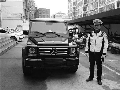 """无牌无证驾豪车""""嘚瑟""""江苏东海小伙上路就被逮"""