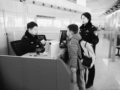 寒假进入尾声 首都机场口岸迎来入境高峰