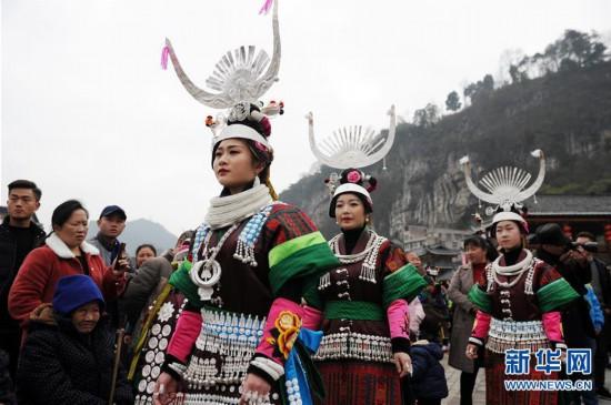 (文化)(7)贵州凯里:盛装起舞闹新春