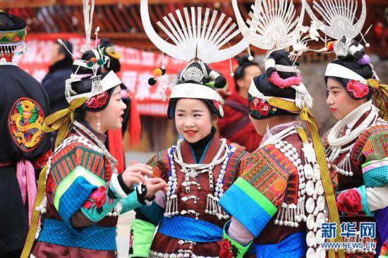 (文化)(6)贵州凯里:盛装起舞闹新春
