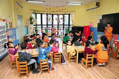 """民办幼儿园市场遭""""挤压""""?"""