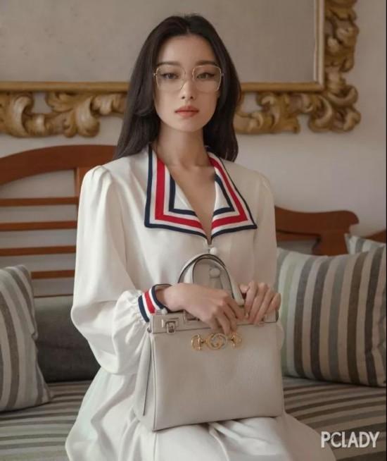 乔欣倪妮亮相时装周,酷帅女孩VS 复古名伶谁赢?