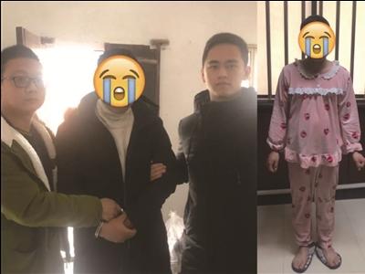 """常州溧阳一""""内衣窃贼""""被抓时还穿着女式睡衣"""