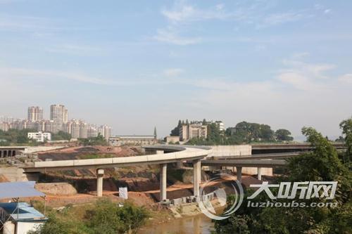 广州搬迁公司长江六桥北岸连接线6月将贯通泸州城西交通压力将缓解
