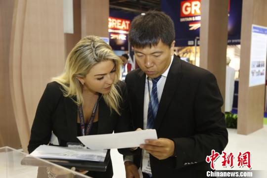 中国中铁四局亮相第13届中东国际铁路及轨道交通展览会
