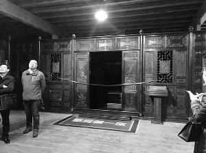 江苏扬中法院拍卖一座紫檀木床 1.15亿起拍