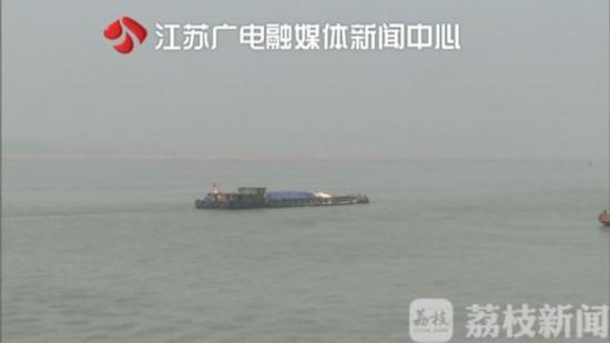 两船员船内熟睡 一觉醒来船只漂流过了江