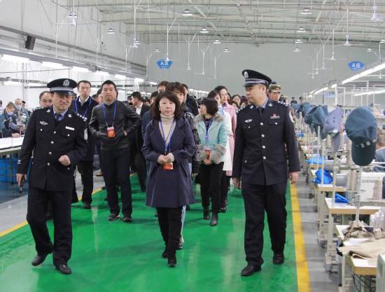 银川监狱举行开放日活动