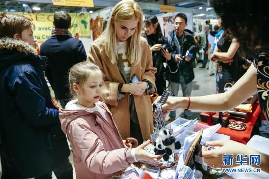 (國際·圖文互動)(3)中國展台首次亮相盧森堡移民文化節