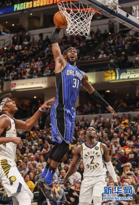 (体育)(2)篮球——NBA常规赛:魔术胜步行者