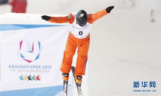 李忠霖获自由式滑雪空中技巧银牌