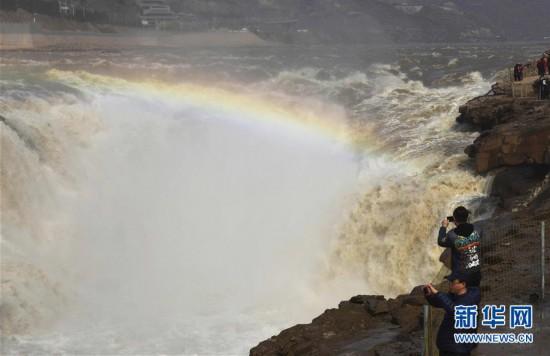 #(环境)(7)黄河壶口瀑布水量增大