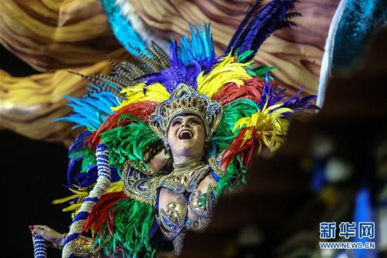 巴西圣保罗狂欢节正式开幕