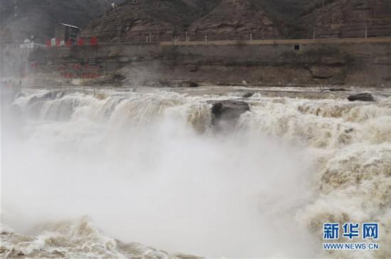 #(环境)(5)黄河壶口瀑布水量增大
