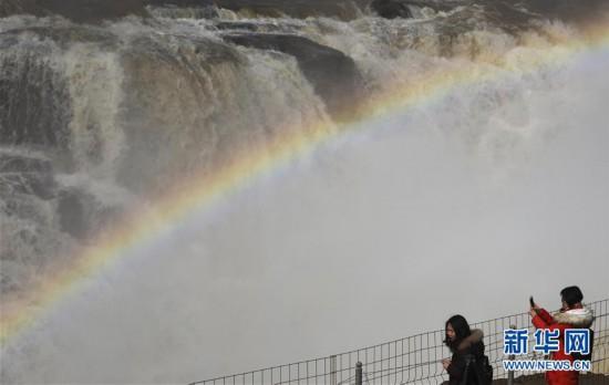 #(環境)(3)黃河壺口瀑布水量增大