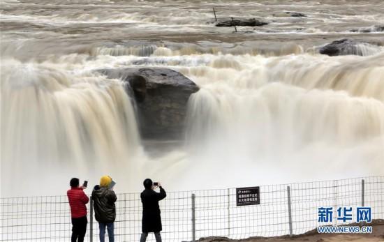 #(环境)(4)黄河壶口瀑布水量增大