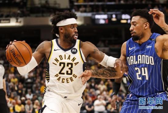 (体育)(6)篮球——NBA常规赛:魔术胜步行者