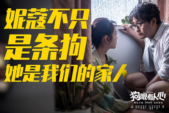 《狗眼看人心》定檔4月 黃磊閆妮催淚守護愛犬