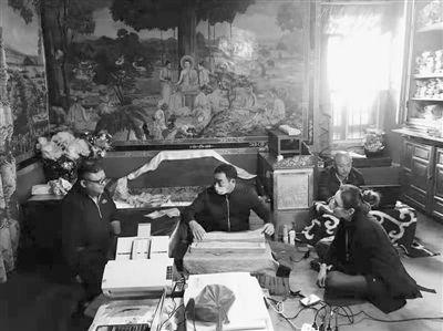 西藏拉萨罗布林卡古籍普查发现9函完好孤本