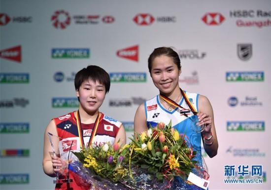 (体育)(1)羽毛球――德国公开赛:日本选手山口茜夺得女单冠军