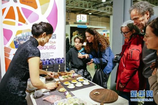 (国际・图文互动)(4)中国展台首次亮相卢森堡移民文化节