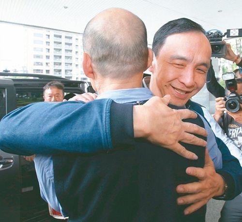 朱立伦拜访韩国瑜:两人闭门会谈一小时强调不会是对手