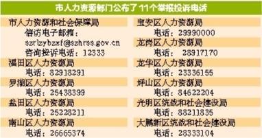 深圳清理整顿人力资源市场秩序专项行动正在进行中!