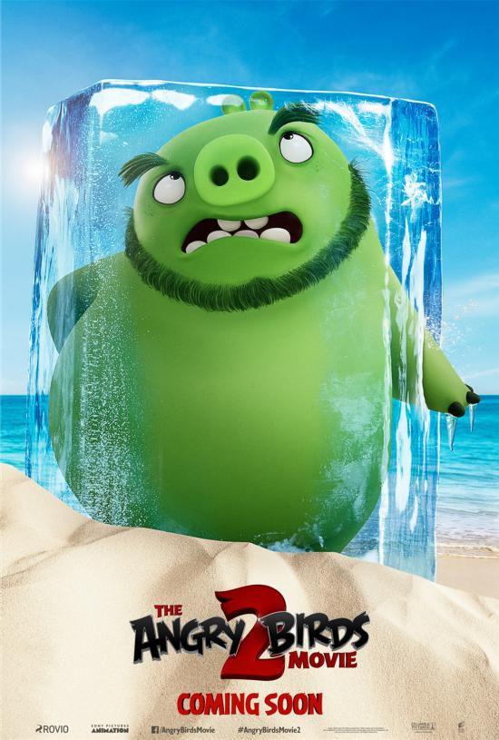 《愤怒的小鸟2》曝光全新海报 萌鸟憨猪引爆暑假
