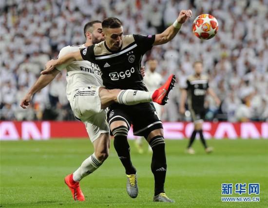 (体育)(4)足球――欧冠:皇家马德里不敌阿贾克斯