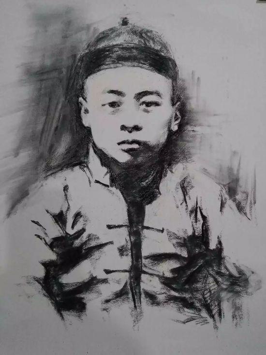 这位江苏人 用78张画作素描周恩来78载人生