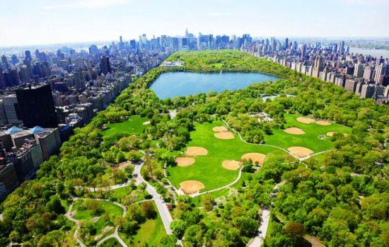纽约中央公园实景