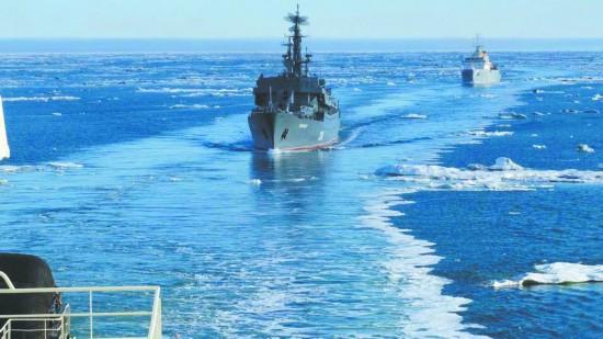 俄为外国军舰走北极立规矩违规将被扣押或摧毁