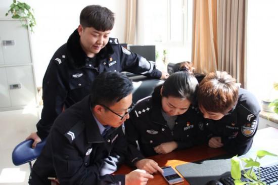 """吴忠公安立足""""学习强国""""平台掀学习热潮"""