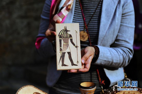 (国际)(2)埃及:妇女节手工艺品展