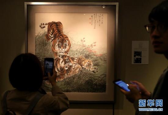 (图文互动)(3)张大千画作将领衔香港苏富比中国书画春拍