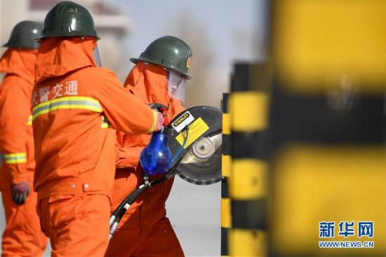 兰州 抢险救援演练 提升应急救援水平