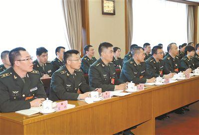 军队代表谈最大限度释放创新创业创造动能