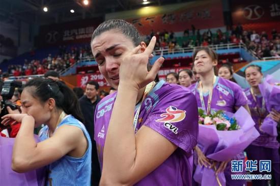 (体育)(14)排球――女排超级联赛:北京汽车夺冠