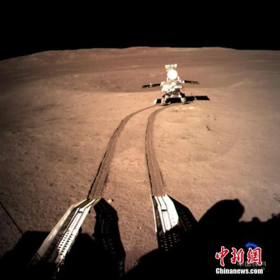 玉兔二号月球车已完成出月午设置 平台工况正常