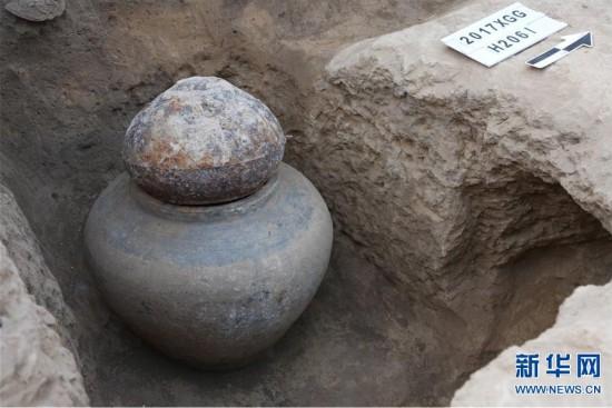 (图文互动)(5)河南官庄遗址新发现两周时期铸铜作坊区