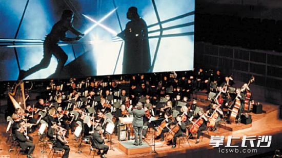 迪士尼原版電影《星球大戰:新希望》交響音樂會現場。資料圖片